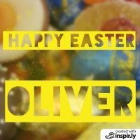 happy easter oliver