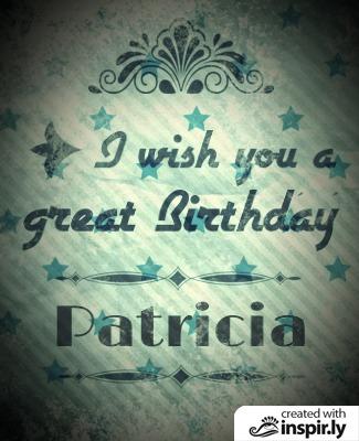 Birthday I wish you a great birthday vintage