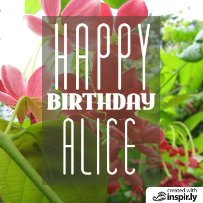 wishes happy birthday alice