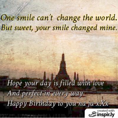 Jang birthday